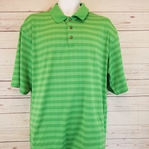 Xl Green Golf polo Short sleeve by pebble beach